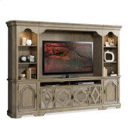 Corinne Entertainment Console Sun-drenched Acacia finish Product Image