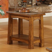 Craftsman Home - Chairside Table - Americana Oak Finish
