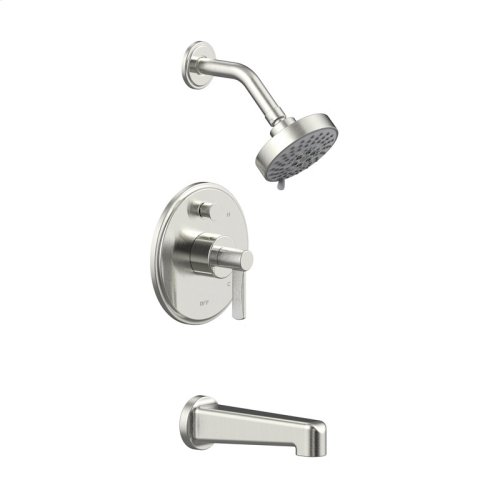 Tub and Shower Trim Darby Series 15 Satin Nickel