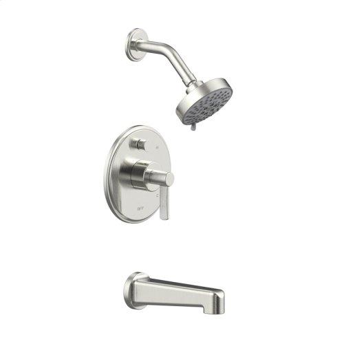 Tub and Shower Trim Darby Series 15 Satin Nickel