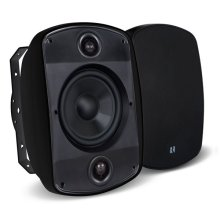 """5B65S-B 6.5"""" 2-Way, OutBack Single Point Stereo Speaker in Black"""