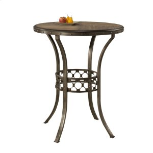 Hillsdale FurnitureLannis Bar Height Bistro Table - Ctn A - Wood Top