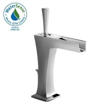Pyke Monoblock Lavatory Faucet - Polished Chrome