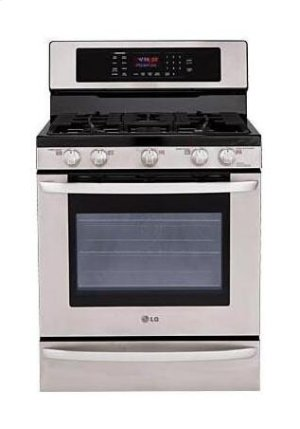 5.4 cu. ft. Capacity Gas Single Oven Range with EvenJet Convection System Product Image