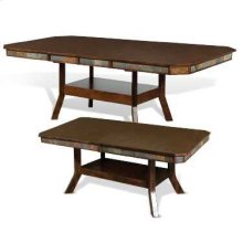 Santa Fe Dual Height Ext. Dining Table w/ Double Butterfly Leaves