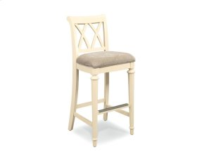 Splat Back Uph. Bar Height Barstool