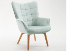 Emerald Home Margo Accent Chair Spa Blue U3328-05-04