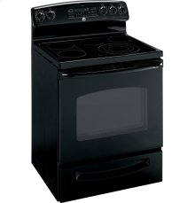 """GE® 30"""" Free-Standing Electric Convection Range with Warming Drawer"""