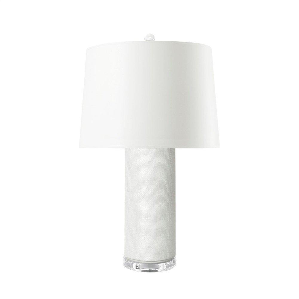 Cleo Lamp, White