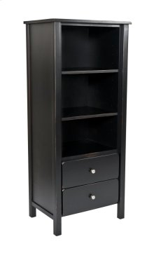 Yukon 2 Drawer Tower With Two Adjustable Shelves