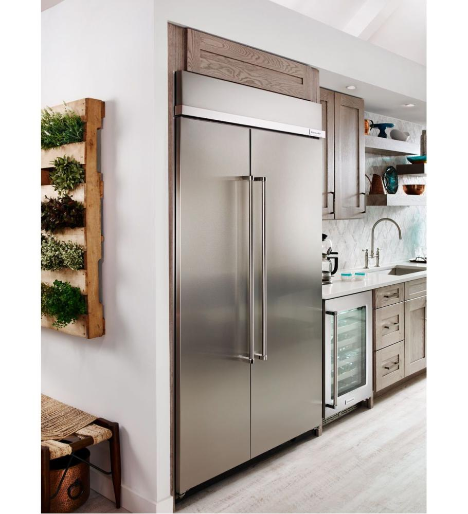 Exceptionnel Hidden · Additional KitchenAid® 30.0 Cu. Ft 48 Inch Width Built In Side By