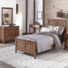 Twin Panel Bed, Dresser & Mirror Product Image