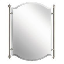 Abbeyville Mirror Brushed Pewter