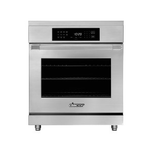 "Dacor30"" Induction Pro Range, Silver Stainless Steel, Canada"
