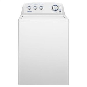Amana 3.4 Cu. Ft. Top Load Washer With Dual Action Agitator - White