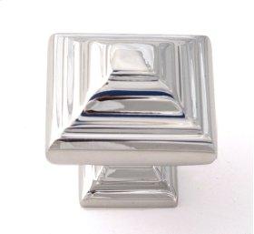 Geometric Knob A1525 - Polished Chrome