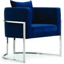 "Pippa Velvet Accent Chair - 30"" W x 30"" D x 29"" H"