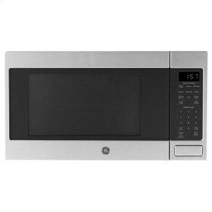 GE® 1.6 Cu. Ft. Countertop Microwave Oven - STAINLESS STEEL