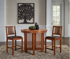 "42"" Gather Ht Round Table"