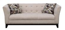 Sofa Cream W/2 Accent Pillows