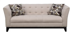 Sofa Cream W/2 Accent Pillows