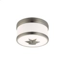 Flush Mount - SATIN NICKEL Product Image