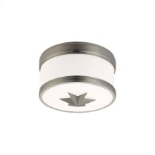 Flush Mount - Satin Nickel