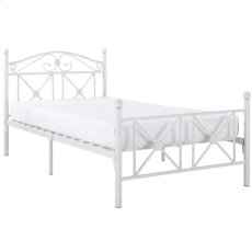 Cottage Twin Bed in White Product Image