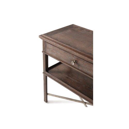 Ardern Reading Table, Dark Echo Oak