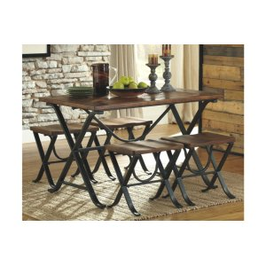 Ashley FurnitureSIGNATURE DESIGN BY ASHLEYRECT DRM Table Set (5/CN)