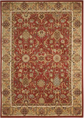 Lumiere Ki602 Brick Rectangle Rug 9'6'' X 13'