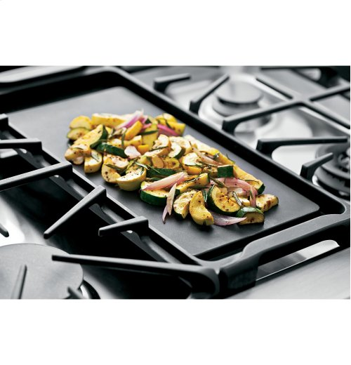 "GE Cafe™ Series 30"" Slide-In Front Control Gas Double Oven with Convection Range Display Model"