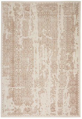 SILVER SCREEN KI344 IV/MOCHA RECTANGLE RUG 5'3'' x 7'3''