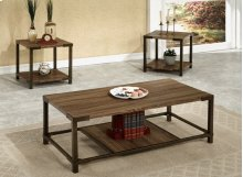 3pc Wooden Coffee Table
