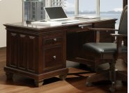 Florentino Executive Desk W/ Keyboard Pullout and File Drawers Product Image