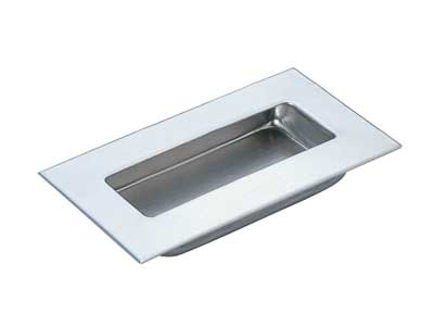 Stainless Steel Recessed Pull