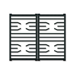 Professional Gas Cooktop Transitional Grates -