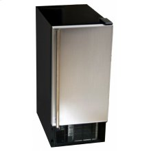 Compact undercounter built-in automatic ice maker for assisted living.
