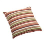 Hamster Small Outdoor Pillow Brown Base Multistripe Product Image