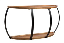 Sofa Table, Available In Merlot Finish Only.