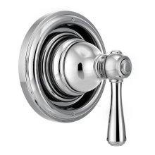 Kingsley chrome transfer valve trim