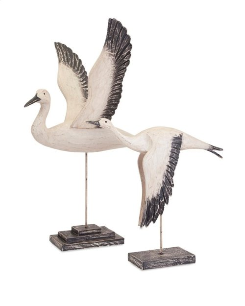 TY Outer Banks Birds in Flight - Set of 2