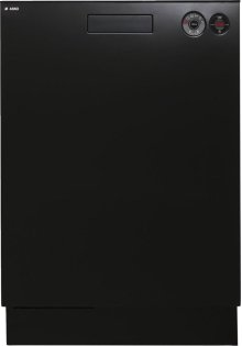 Built-in Dishwasher with front controls - Black