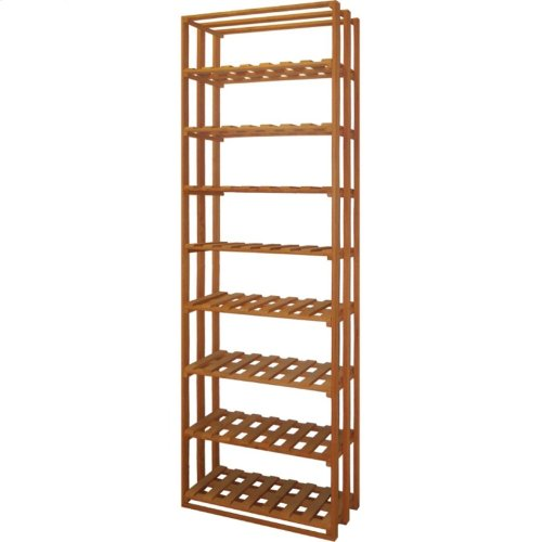 Apex 6' Pine Wine Rack Kit (VT-BINS-CASES LATTICE VT-BINS-CASES) - READY TO SHIP