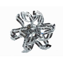 2068 Tiffany Collection Wall Sconce Chrome Finish (Elegant Cut Crystals)