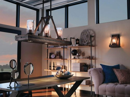 Colerne Collection Colerne 6 Light Linear Chandelier CLP