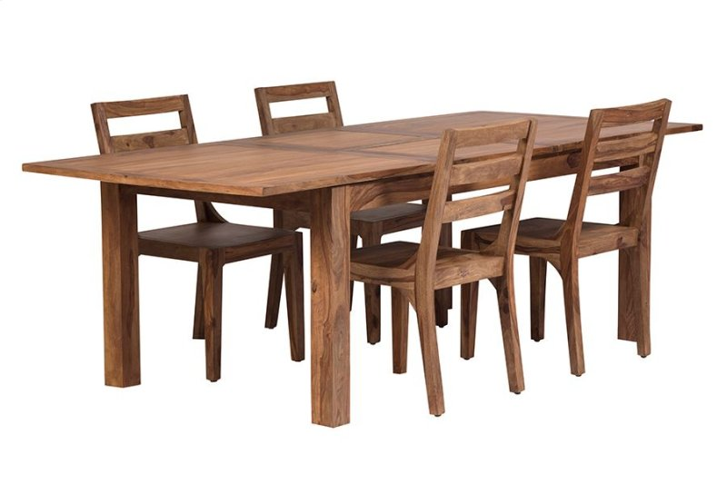 Hidden Additional Urban Dining Table 72 With 24 Butterfly Extension HC1127S01