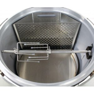 Blaze Easy Light Indirect Cooking System with Moisture Enhancing Pan