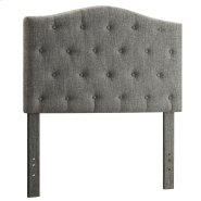 "Grace 39"" Headboard in Grey Product Image"