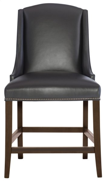 Slope Leather Counter Stool in Cocoa Product Image